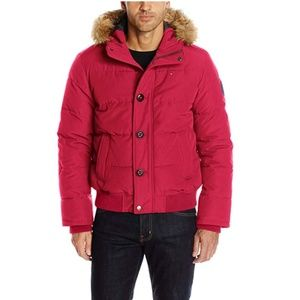 """NEW! Men's Tommy Hilfiger Quilted """"Arctic Cloth"""""""